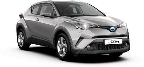 C-HR, 1.2, 85 kw, automaat, LUXURY